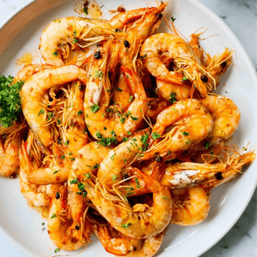 butter garlic shrimp
