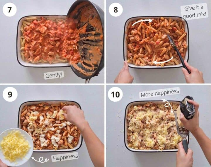 Step by step instructions on how to make this dish