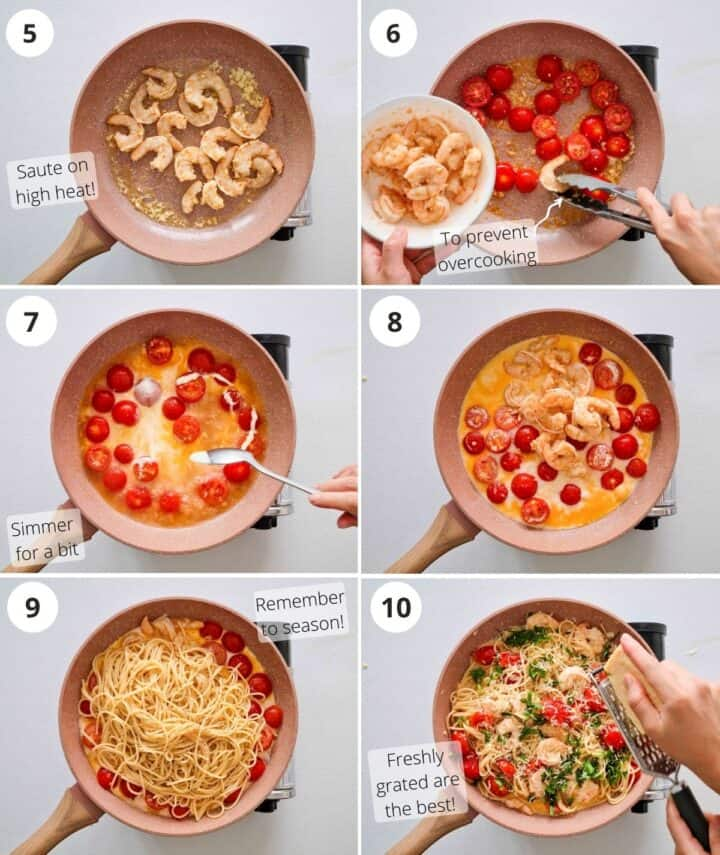 step by step on cooking this dish