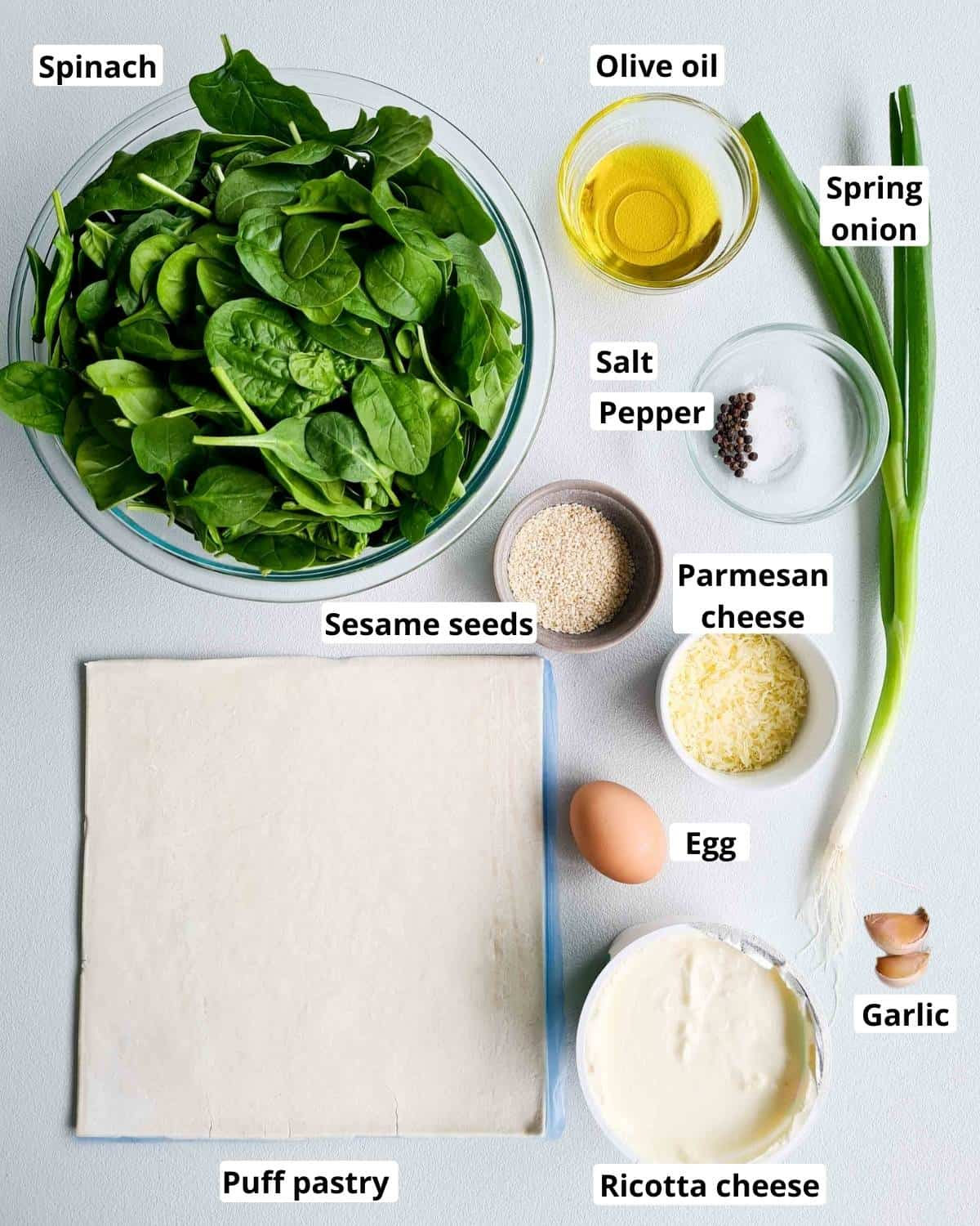 all ingredients required to make this recipe
